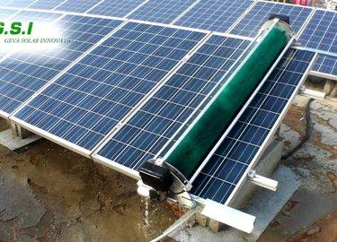 GEVA-BOT: רובוט לניקוי פאנלים סולאריים