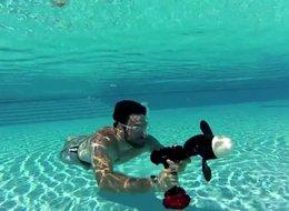 מברגה מקדחה אטומה למים