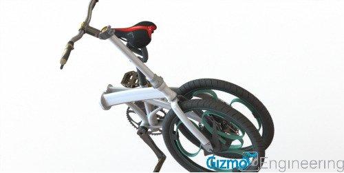 פטנט אופניים מתקפלות