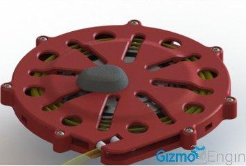 מנגנון בעל שתי נקודות חיבור המבוסס על ליפוף חוט קשירה