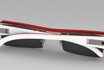 משקפיים בעלי מנגנון מכאני ופשוט המאפשר לשנות את צבע המסגרת של המשקפיים בכמה רגעים